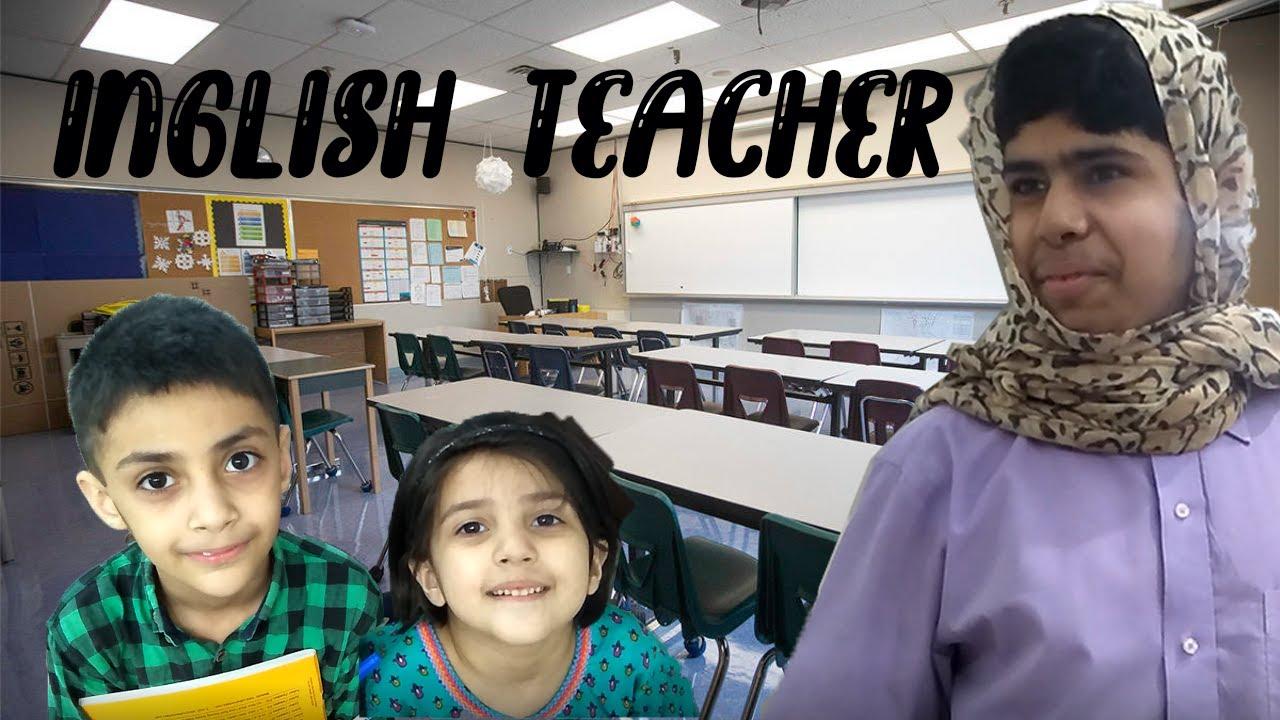Inglish Teacher | Nasreen | Remake by Qazi Vlogs