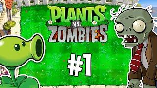 PvZ en cuarentena - #1 - Plants vs. Zombies