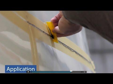 Official Av-DEC Thixoflex Black TG3212 Installation and Removal