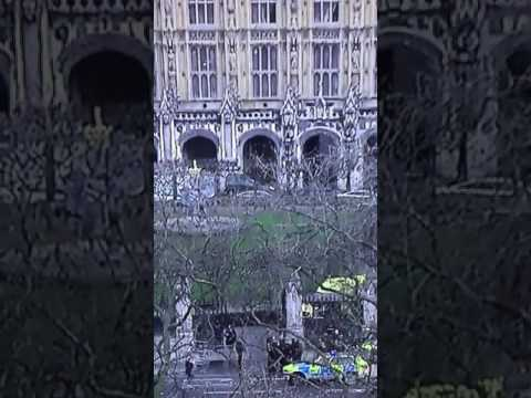 Terrorist attack - London Westminster Bridge - Houses of Parliament