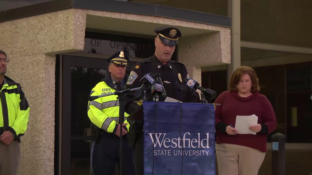 Westfield State University >> Police Discuss Lockdown At Westfield State