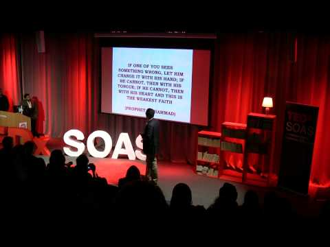The importance of youth activism and the role of Islam: Oussama Mezoui at TEDxSOAS