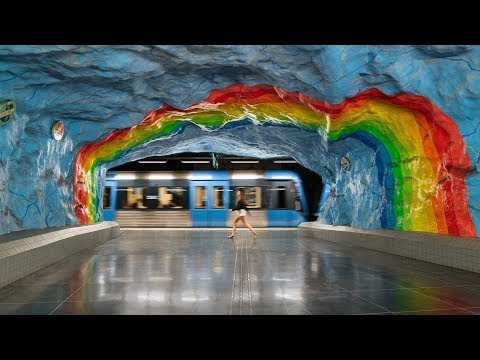 STOCKHOLM METRO 🚇 and public transportation | Travel Guide