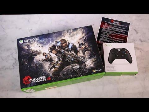 'Unboxing': Xbox One S 'Gears Of War 4' Edición Limitada