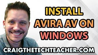 How To Install Windows XP Avira Antivirus Free - Ep. 5