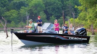 TRACKER Boats: 2017 Targa V-20 Combo Deep V Fishing Boat