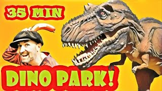 DINO PARK - Kids Dinosaur Facts | Full Season 1 | Kids Show | Learn Dinosaurs | Dinopark