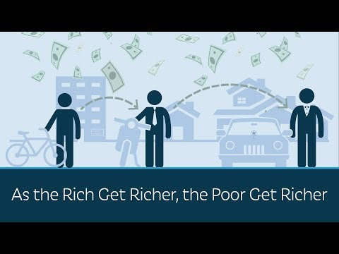 As the Rich Get Richer, the Poor Get Richer