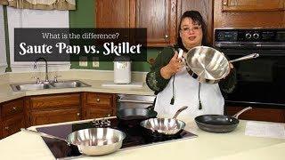 Saute Pan vs Skillet | Difference Between Saute Pan & Skillet Frying Pan | Saturday Tip of the Week