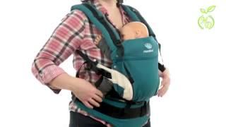 видео Как правильно носить ребенка в кенгуру