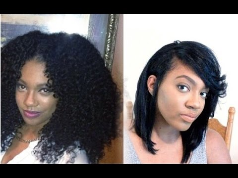 How To Fit Long Thick Natural Hair Under A Wig