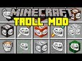 Minecraft TROLL MOD! | BUILD AND TROLL PLAYERS! | Modded Mini-Game