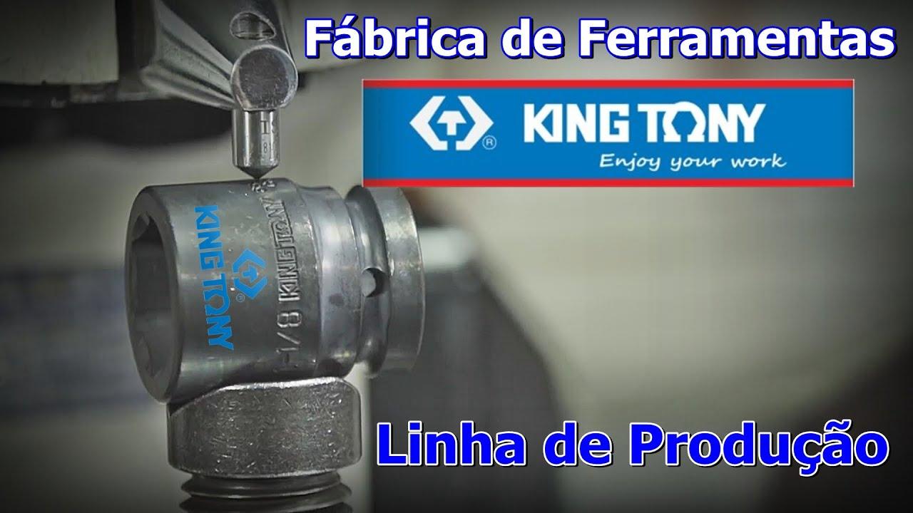 Fábrica de Ferramentas King Tony - Ferramentas King Tony - Linha de Produção Ferramentas King Tony