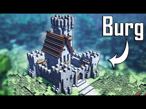 Minecraft Burg Bauen 🏰   Burg In Minecraft Bauen Deutsch