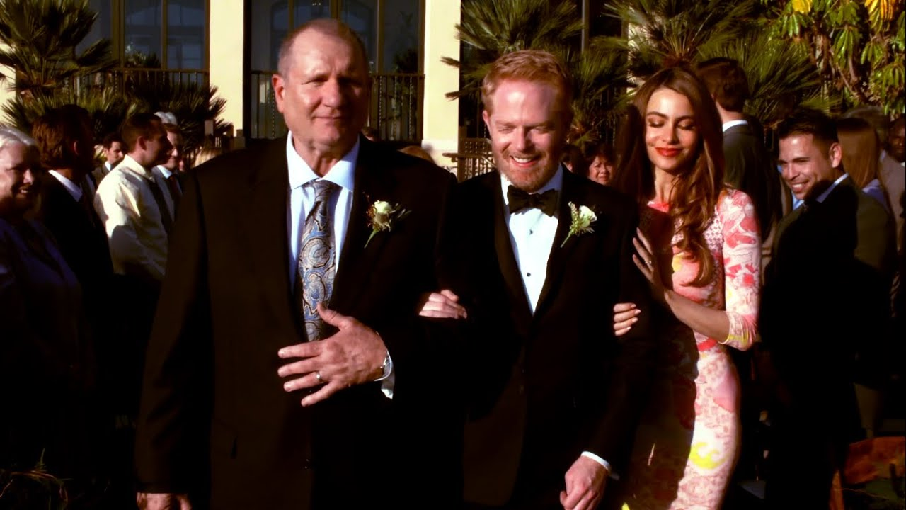 Modern Family Mitch And Cam Through The Seasons 5x24 Wedding Event You