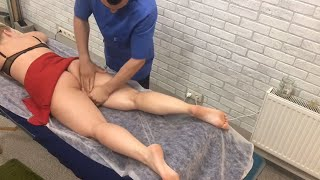 Самый эффективный антицеллюлитный массаж Киев |  anti-cellulite massage Kiev |  抗脂肪按摩基輔