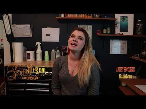 Shanna Artist Spotlight- Seventh Seal Tattoo Club-Panama City FLorida