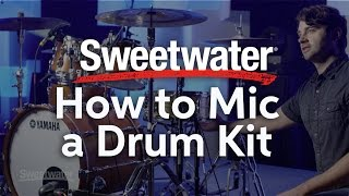 How to Mic a Drum Kit presented by Daniel Ellis from Jesus Culture