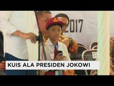 Lucu! Kuis Jokowi - Presiden Joko Widodo Tantang Bocah Pintar SD Tasikmalaya  - Safari Ramadan