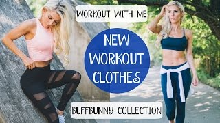 Workout with me, Workout Clothes, & Buffbunny Restock! | Girly Gains