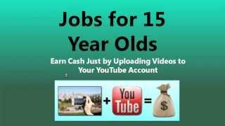 part time job for 15 year old student