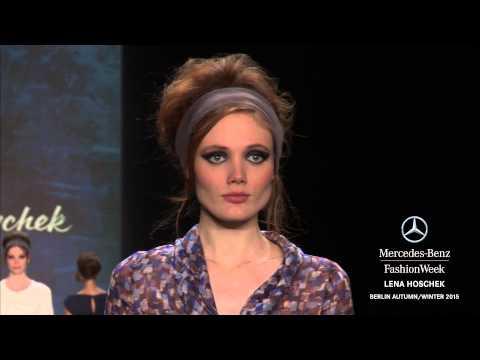 LENA HOSCHEK: Mercedes-Benz Fashion Week Berlin AW 2015