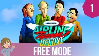 Airline Tycoon Free Mode | Our Own Branches! | Part 1