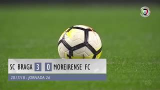 Video Gol Pertandingan Sporting Braga vs Moreirense