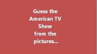 Picture American TV show quiz