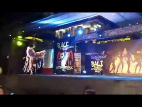 Kelly Cavanagh T Walk at iCompete Bali Paradise International