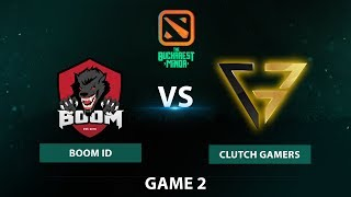 Boom ID vs Clutch Gamers | Bo3 Grand Finals Game 2 | The Bucharest Minor SEA Qualifier