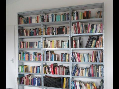 een boekenkast maken