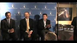 Red Wings' Chris Chelios, Jim Nill And Ryan Martin Address The Dsba At Hockeytown Cafe