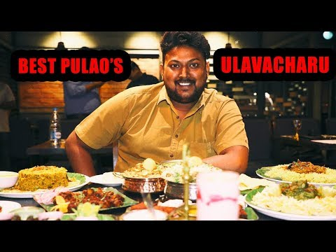 Amazing South Indian food in Hyderabad | Ulavacharu | South Indian Restaurant in Hyderabad