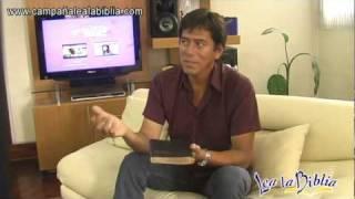 """El actor José Luis Ruiz se une a la Campaña """"Lea la Biblia"""""""
