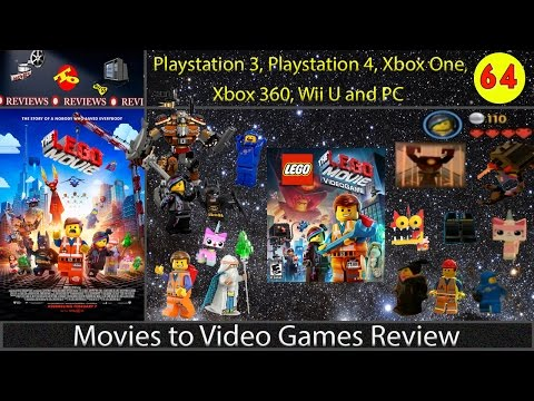 Movies to Video Games Review - The Lego Movie Video Game (PS4, PS3, Xbox 360, Xbox One, Wii U & PC)