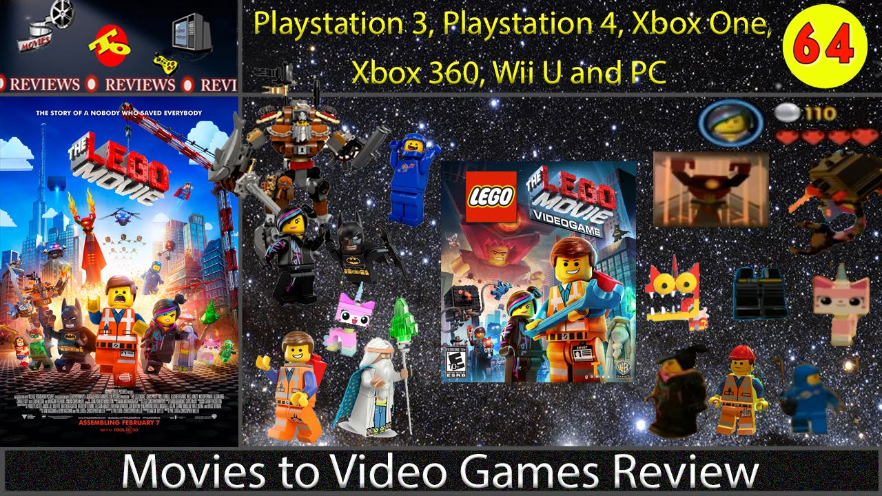 Movies To Video Games Review The Lego Movie Video Game