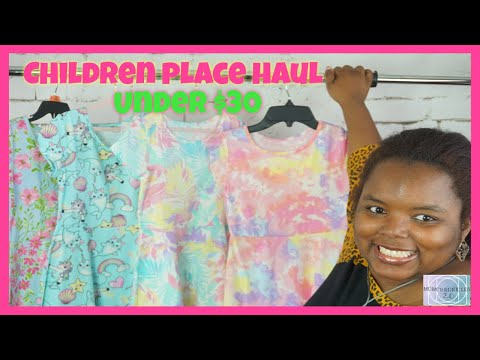 Children's Place Haul I Under $30 I Dresses Galore I #childrensplace #momchronicles2.0 #momzsweettea