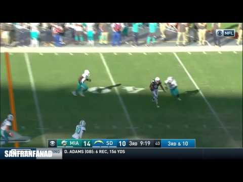Tyrell Williams Vs Dolphins (NFL Week 10 - 2016) - 125 Yards + TD! | NFL Highlights HD