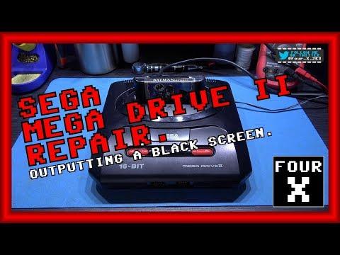 SEGA Mega Drive (Genesis) II - Black Screen Repair