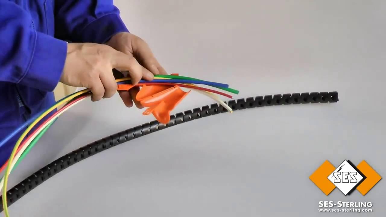 Pliozip tubo para recoger cables youtube - Tubos para cables ...