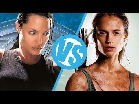 Lara Croft: Tomb Raider (2001) VS Tomb Raider (2018) : Movie Feuds