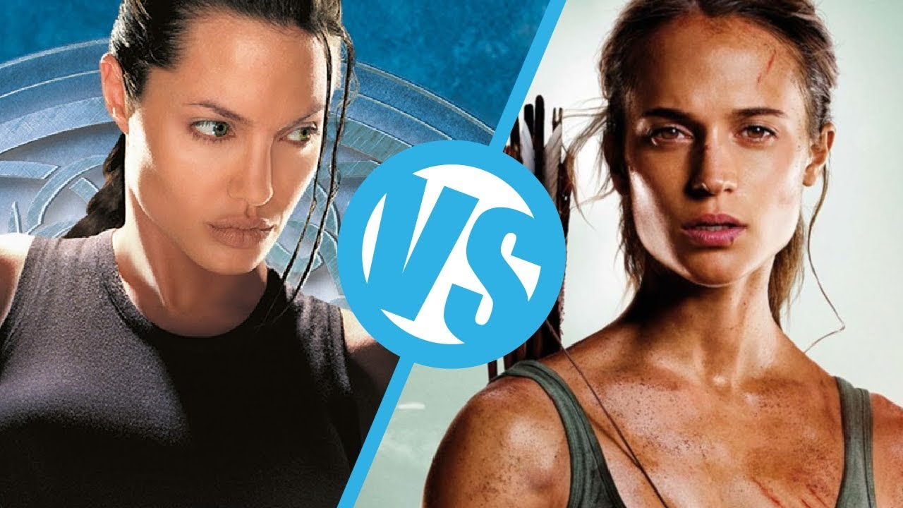 Lara Croft Tomb Raider 2001 Vs Tomb Raider 2018 Movie Feuds