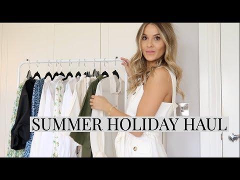 HUGE SUMMER HOLIDAY HAUL | ZARA, MANGO, ASOS & TOPSHOP | NADIA ANYA