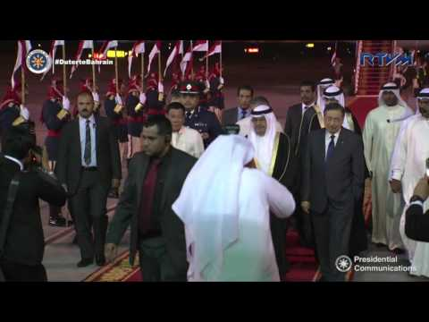 Arrival at Bahrain International Airport 4/12/2017
