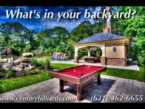 Waterproof Outdoor Pool Table For All Weather