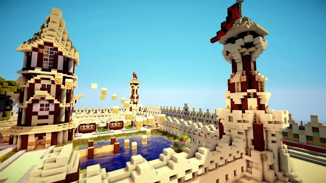 Epic Medieval Desert Factions Spawn Map Youtube