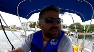How to Steer a Sailboat in Reverse, Full Keel