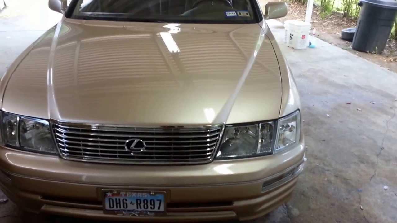 1996 lexus ls400 [ 1280 x 720 Pixel ]