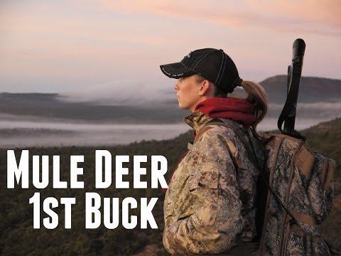 Richelle Steele's Mule Deer Hunt-2012 No Excuses